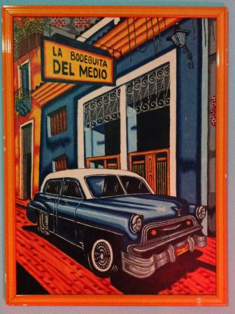 The tacky Cuban oil painting. Ran out of film posters I guess