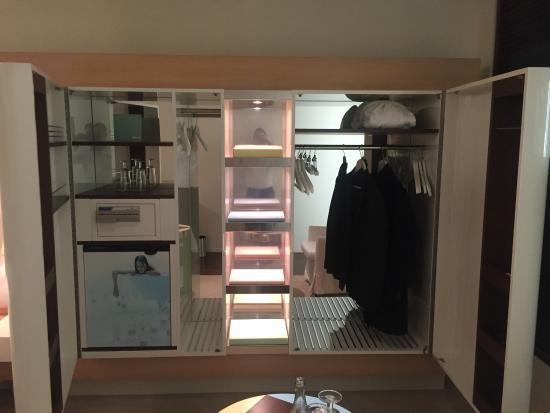 Wardrobe In Room Bild Von Side Design Hotel Hamburg Hamburg