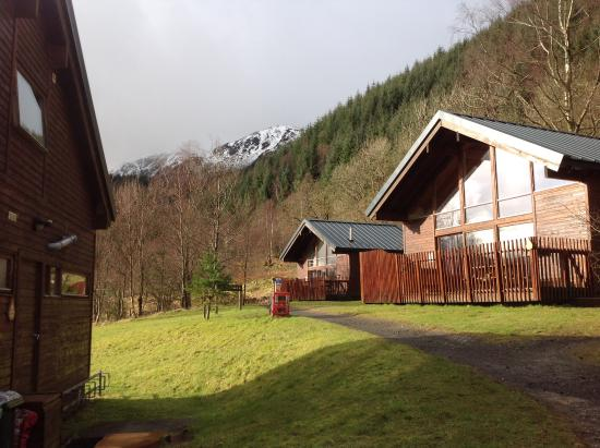 one of the lodges next to ours picture of forest holidays rh tripadvisor com my
