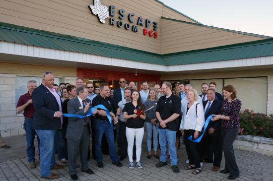 Escape Room BCS: Chamber of Commerce Ribbon Cutting