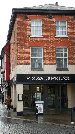 Outside Pizza Express Picture Of Pizza Express Hitchin