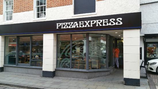 Pizza Express Picture Of Pizza Express Hitchin Tripadvisor
