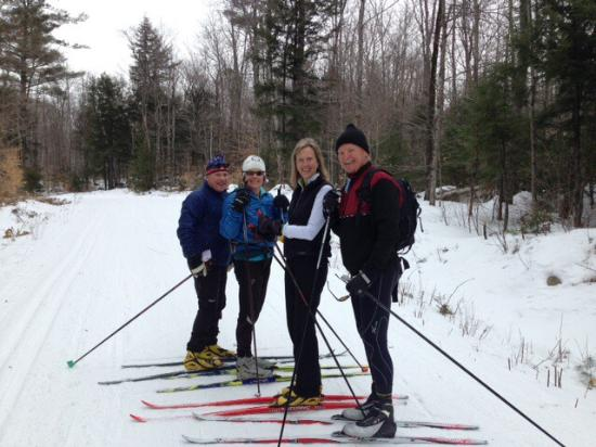Bear Notch Ski Touring Center : Best cross country skiing in the east!! Dog friendly, people friendly and perfect conditions whe