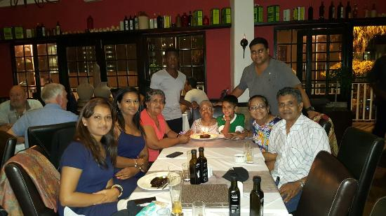 Olive & Oil - Umhlanga: Grandmothers 92nd birthday supper