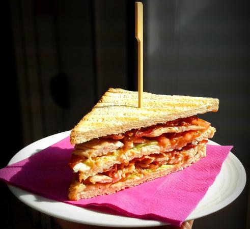 Club Sandwich  - Picture of BLACK Coffee Break, Collegno - TripAdvisor