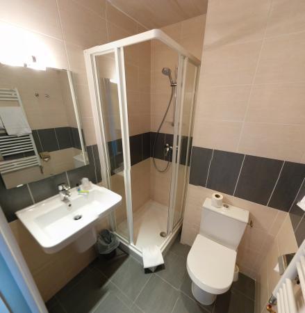 Le Lion D'or : Salle de bain chambre confort
