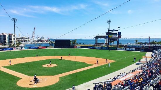 Blue Wahoos Ballpark: A great place to take in a game. Can't beat the location overlooking the water. We thoroughly en