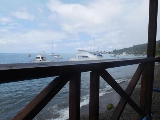Castle Comfort Dive Lodge: The other view from lunch
