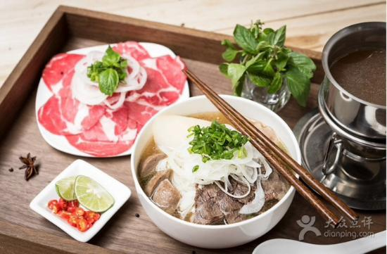 VietnaMonAmour: Pho from a Hong Kong restaurant - that's how pho should be done .