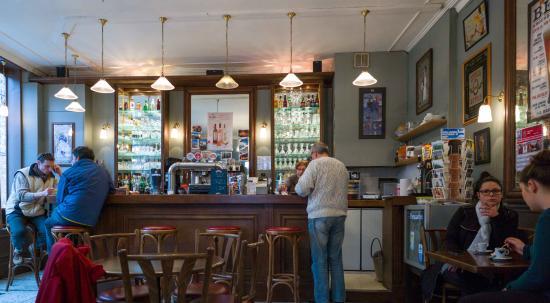 Le Cafe des Z'Arts: Een mooi jaren 30 cafe!