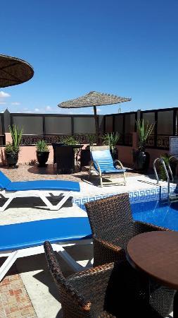 Hotel Mont Gueliz: Roof top terrace