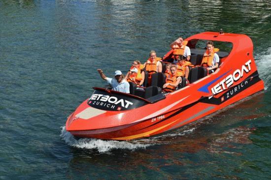 Jetboat Zurich