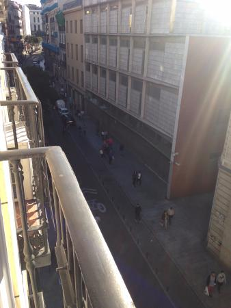Hostal Pretoria : vista desde el balcon