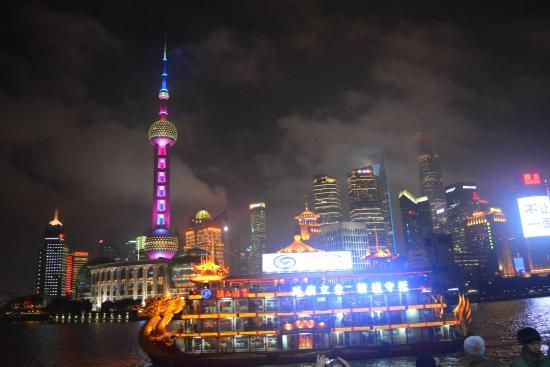 Night Huangpu river cruise - Picture of Wyndham Bund East Shanghai -  Tripadvisor