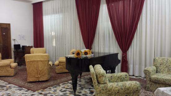 Hotel Cristallo: sala relax