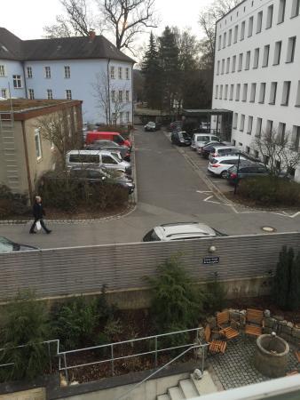 Klassik Hotel am Tor : Aussicht aus meinem Fenster