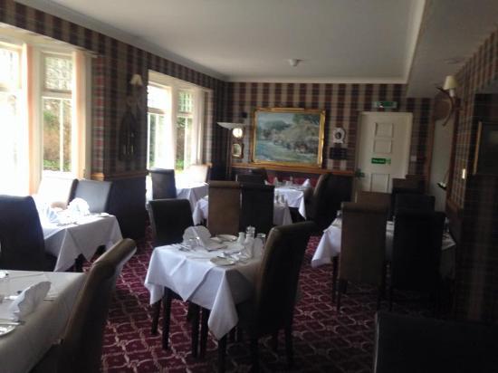 Garth Hotel & Restaurant : The main dining room