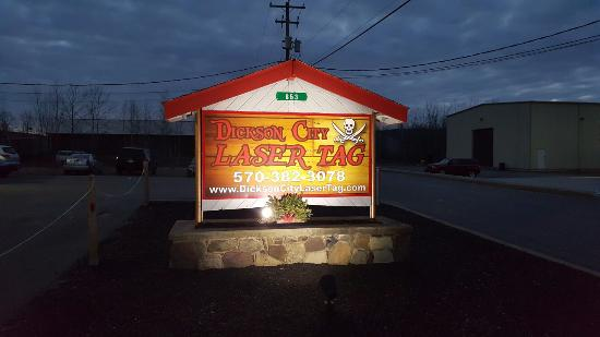 Dickson City, PA: Laser tag ""