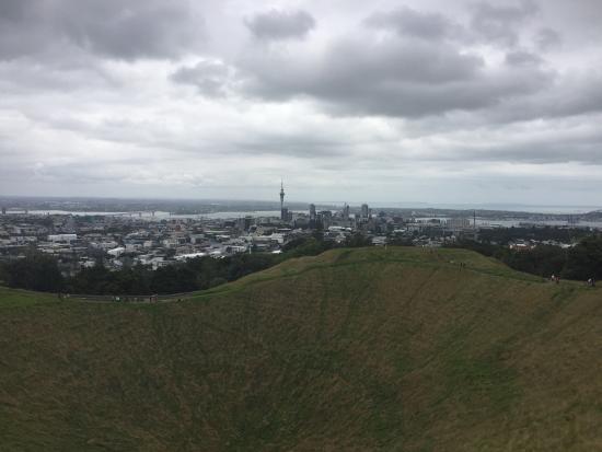 Mount Eden: Vista do monte