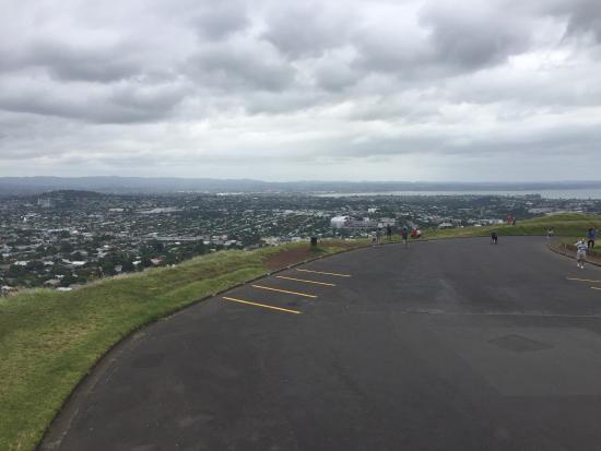 Mount Eden: Vista do monte