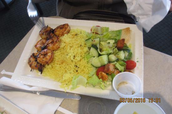 Zorba's Cafe & Grill: shrimp