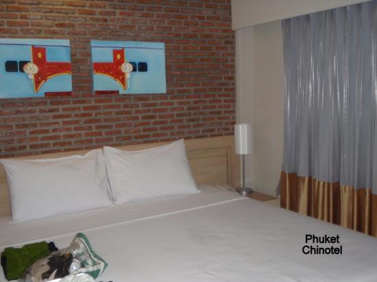 Chinotel Phuket: Colchão travesseiros confortáveis