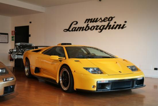 Lamborghini Museum: Lamborghini Diablo GT