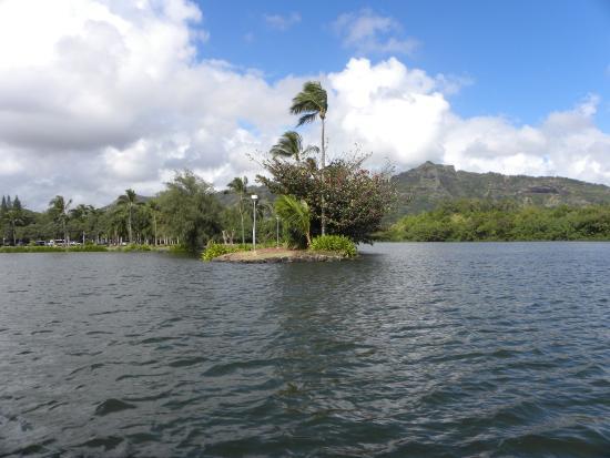 Kilauea, Hawaje: Boat ride to the Fern Grotto