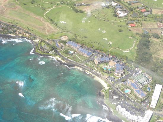 Kilauea, Hawái: plane ride