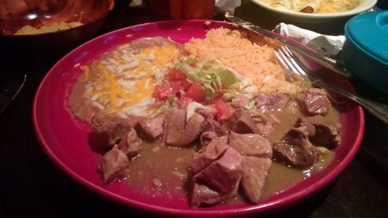 Gresham, OR: Chili Verde Plate