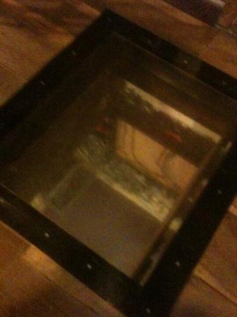 Jailhouse Pizza Trap door for hangings! & Trap door for hangings!! - Picture of Jailhouse Pizza Brandenburg ...