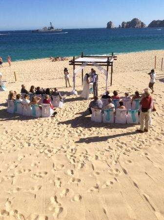 wedding on the beach outside hotel picture of hotel riu santa fe rh tripadvisor com