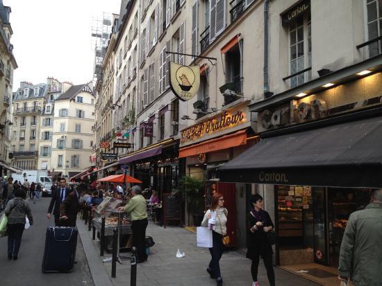 Marché de la rue de Buci : Rue de Buci [6ème]