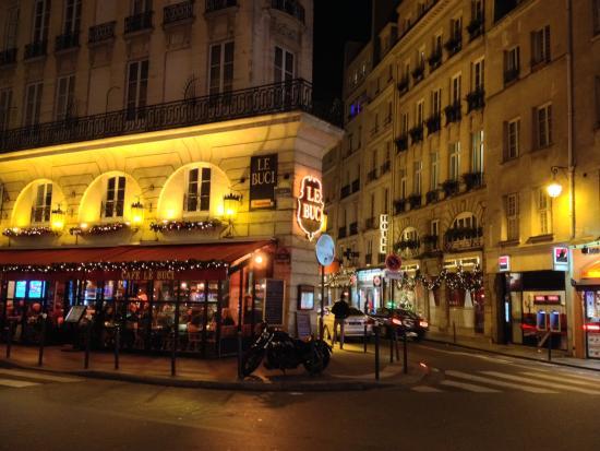 Marché de la rue de Buci : Café le Buci [6ème]