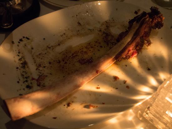 Englewood Cliffs, นิวเจอร์ซีย์: Tomahawk steak finished