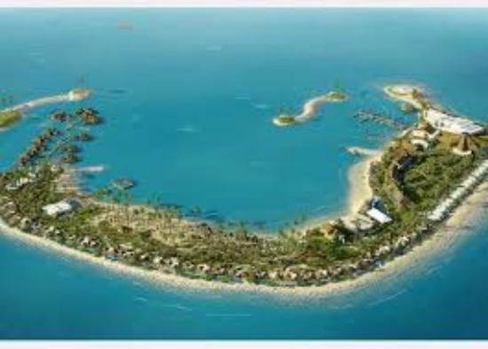 Air View Of Banana Island Picture Of Banana Island Resort Doha By