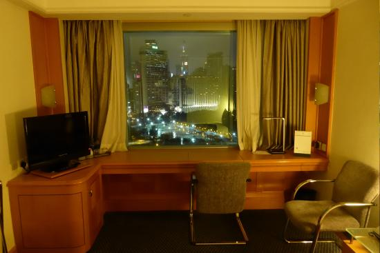 writing desk with view