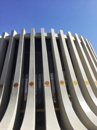 Pillars - One for each State + Capital City Washington