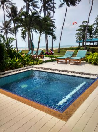 Laem Set, Thailand: Mini pool outside Ocean Villa