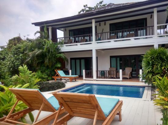 Laem Set, Tailandia: 4 Ocean villa sharing a mini pool