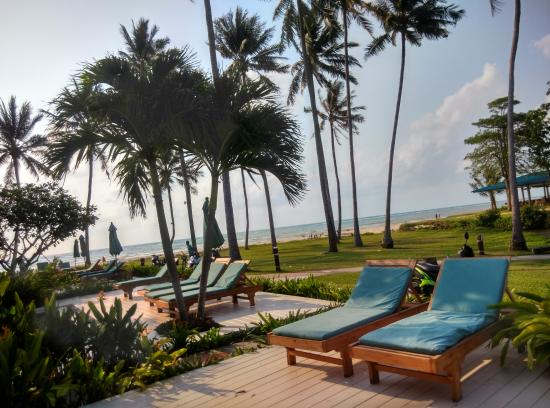 Laem Set, Thailand: This is the view from Ocean Villa No. 12