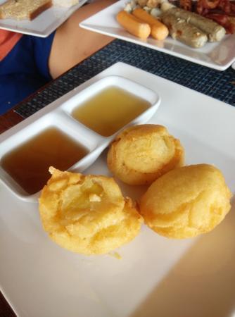 Laem Set, تايلاند: Banana fritters
