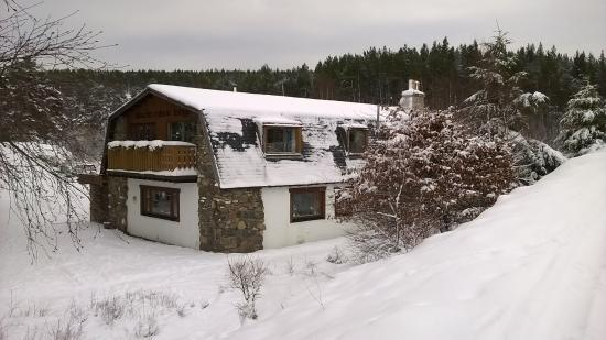 Slochd Mhor Lodge: view from outside