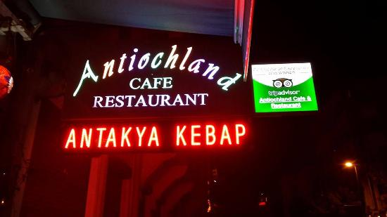Antiochland Cafe & Restaurant: Trip advisor certificate of excellence