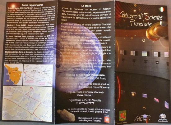 Museo Di Scienze Planetarie