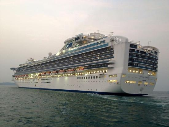 Treasure Sihanoukville Travel and Tours: Cruise ship