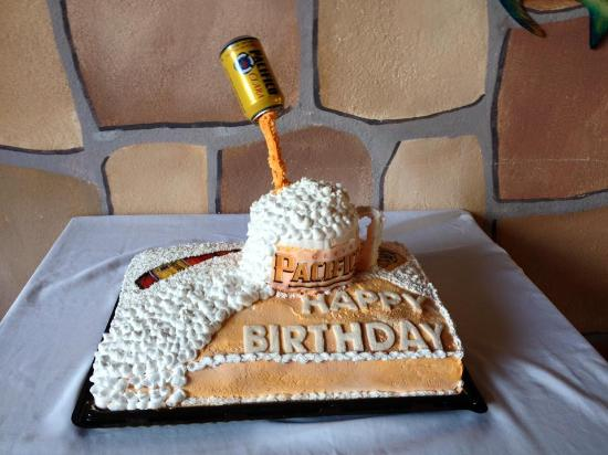 Cool Birthday Cake Made By The Owners Daughter Picture Of Teo Funny Birthday Cards Online Inifofree Goldxyz