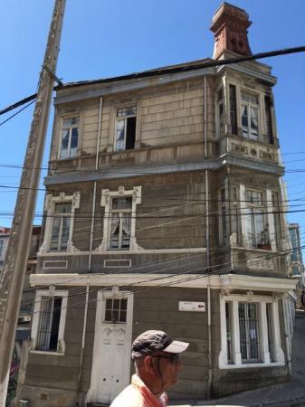 Cerro Concepcion: Charming buildings everywhere