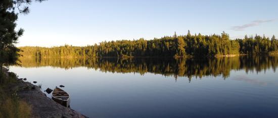 Atikokan, แคนาดา: Quetico Canoe Trip
