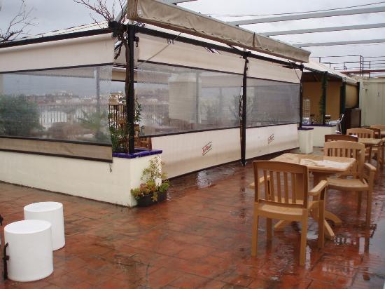 Terraza cerrada en la azotea fotograf a de hotel don - Terrazas en azoteas ...